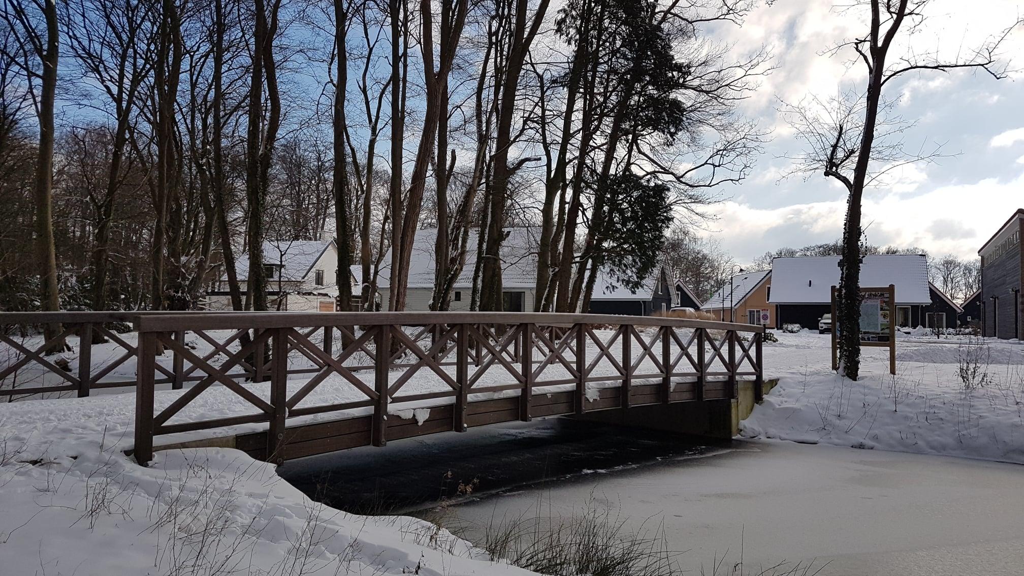 Sneeuw op Villapark Ehzerburg - foto 1