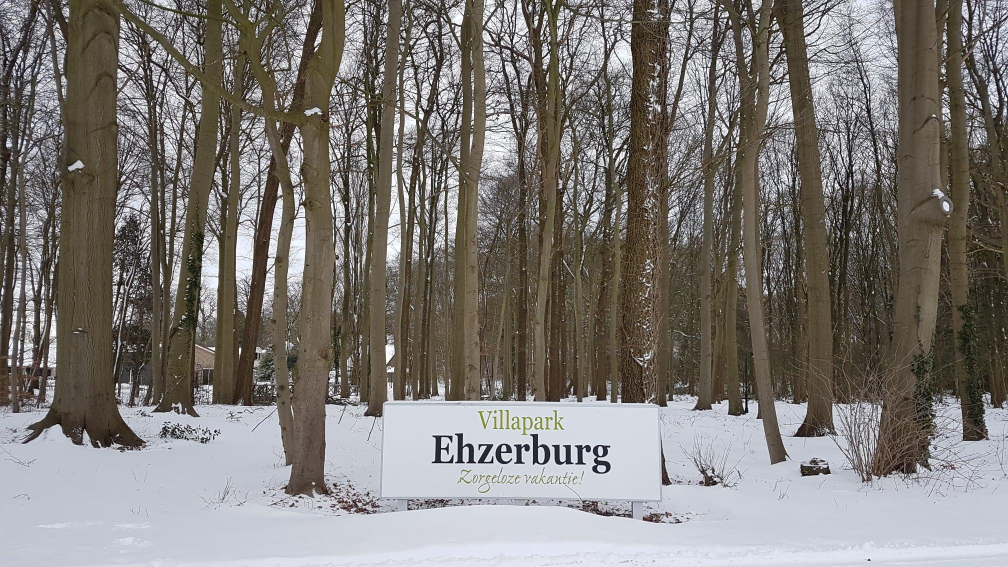 Sneeuw op Villapark Ehzerburg - foto 4